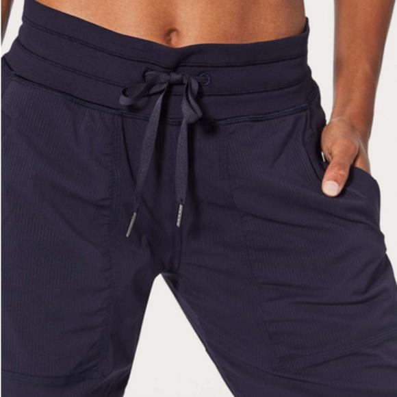 ede2aa5b8da lululemon athletica Pants - NWOT Lululemon Dance Studio Pant III -Lined -  Navy